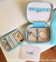 Colorado Travel Jewelry Case images Pearl earrings for sensitive ears a jewelry keeper for travel jpg