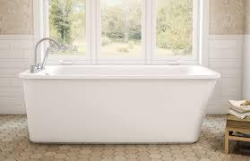 Bathroom Sax Freestanding Bathtub Acrylic Lounge Maax Bathroom