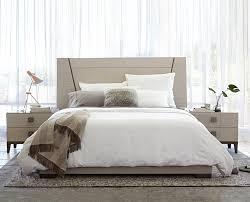 Scandinavian Bed Bedroom Simple Scandinavian Bedroom Waffle Textured Bed Cover