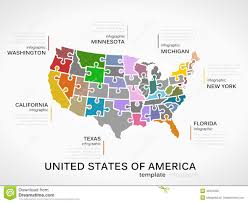 United States Of America Maps by Map Of The United States Of America Royalty Free Stock Images