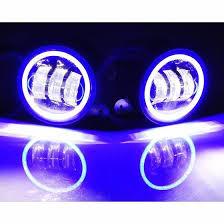 illuminex bluetooth color changing halo led fog lights for jeep