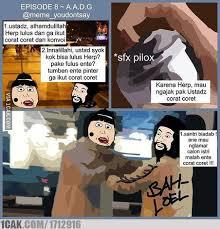 Meme Komic - komik meme herp vs cage episode 8 kelulusan 1cak for fun only