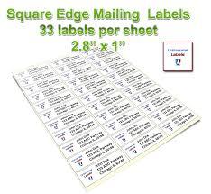 33 Labels Per Sheet Template by Versatile Pc Connectable Label Maker Brtptd450