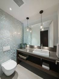 bathroom with marble tiles floor gray walls paint color gray