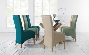 teal dining room chairs