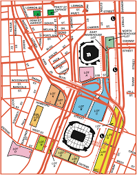 Ou Map Camden Yards Parking Guide Maps Tips Deals Spg