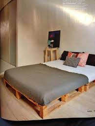pallets for beds 42 diy recycled pallet bed frame designs best