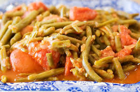 green beans with tomatoes the pioneer
