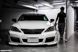 white lexus is 250 aimgain japan supercharged lexus is250c stancenation