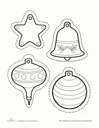 ornament templates preschool best idea 2017