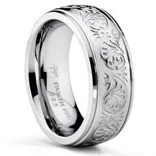 stainless steel wedding bands stainless steel wedding rings for less overstock