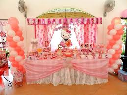 1st birthday party decorations at home hello kitty birthday party ideas home margusriga baby party