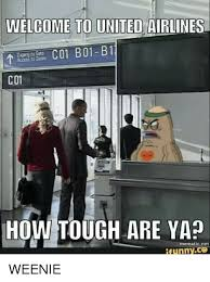 Spongebob Internet Meme - welcome to united airlines c01 how tough are ya mematic net