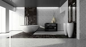 Bathroom With Black Walls Bathroom Luxury Bathroom With Black And White Fixtures Also White