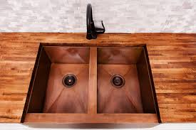 kitchen kohler undermount kitchen sinks copper bar sink faucet
