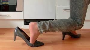 Kitchen Shoes by Abusing Shoes In Kitchen Youtube