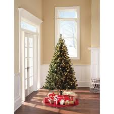pre lit 6 5 u0027 colorado pine with 400 clear lights walmart com