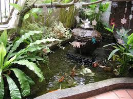 balinese design man made garden pond with japanese koi fish balinese design man made garden pond with japanese koi fish
