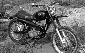 first motocross bike here are some badass pics of early japanese works bikes moto