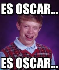 Memes Oscar - es oscar bad luck brian meme on memegen