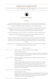 Work History Resume Examples by Fashion Designer Resume Samples Visualcv Resume Samples Database