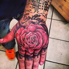 rose colorful hand detailed unique tattoo uncategorized tattoos