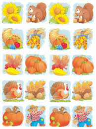 fall harvest celebrating thanksgiving stickers found here