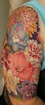 half sleeve flowers artist james burch crayons rochester
