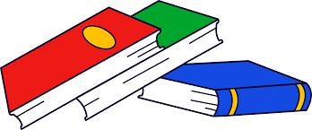 stack of three books free clip art