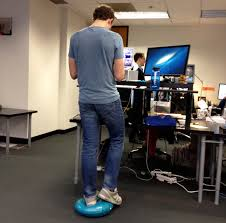 Standing Desk For Cubicle Say No To Stand Up Desks Foot Rest And Desks