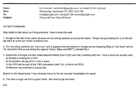 Recruiter Sample Resume by Emails From Eric Schmidt And Sergey Brin On Hiring Apple Workers
