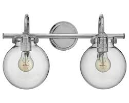 Charming Glass Vanity Light Crystal Bathroom Vanity Light Fixtures - Bathroom vanity light fixture globes