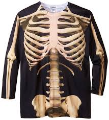 Tall Man Halloween Costumes Amazon Faux Men U0027s Big Tall Big Size Skeleton Big Size