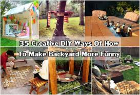 35 creative diy ideas of how to make backyard more funny diy