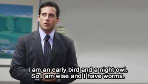 5 the office quotes that describe college so well it hurts