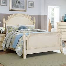 beds glamorous distressed bed frame rustic white bedroom inside