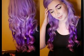 pony hair how to my pony hair lavender purple pink ombre