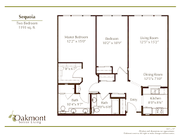 Floor Plans Floor Plan Gallery U2013 Oakmont Of Roseville