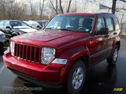 dark red jeep 2011 jeep liberty sport 4x4 in deep cherry red crystal pearl