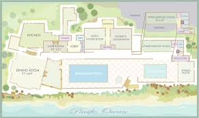 Floor Plan Wedding Reception Wedding Venues At Pebble Beach The Beach U0026 Tennis Club
