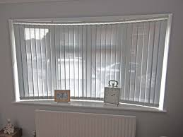 vertical blind with a curved headrail selection blinds