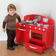 Kidkraft Kitchen Red - awesome kidkraft retro kitchen red taste