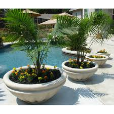 have to have it round fiberglass roman planter 199 99 garden