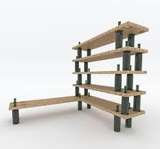Cool Frame Designs Cool Wooden Wall Shelves Design With Black Bottle Based Frame For