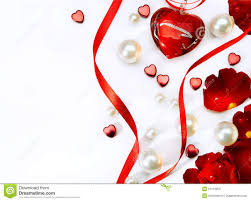 valentines day card with red roses and haer stock photos image