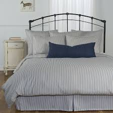 ticking stripe comforter classic bedroom with king size grey ticking stripe comforter set