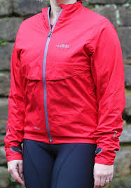 Review Dhb Ladies Eq2 5 Waterproof Jacket Road Cc