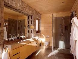 badezimmer mit holz holz und stein auch im badezimmer bild 8 schöner wohnen