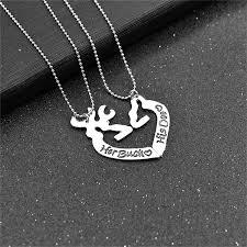 Buck And Doe Couples Necklace Popular Buck Doe Necklace Buy Cheap Buck Doe Necklace Lots From