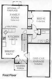 two bedroom floor plan tironi one realty